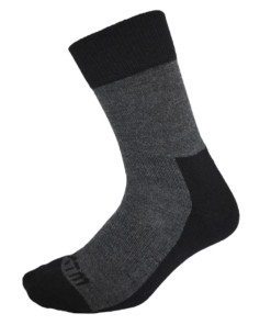 Tasman Merino Wool Socks Black